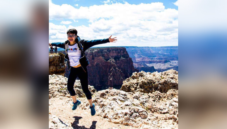 Nichole at Grand Canyon